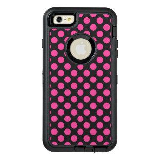 Rosa Tupfen OtterBox iPhone 6/6s Plus Hülle