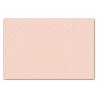 Rosa Tupfen-Seidenpapier Seidenpapier