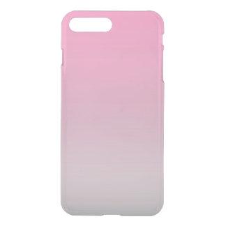 Rosa u. graues Ombre iPhone 8 Plus/7 Plus Hülle