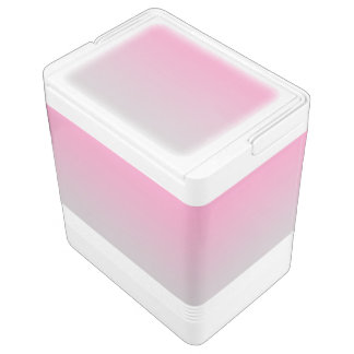Rosa u. graues Ombre Kühlbox