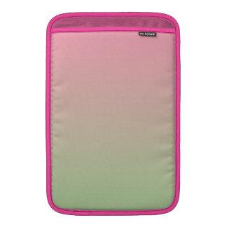 Rosa u. grünes Ombre Sleeves Fürs MacBook Air