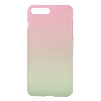 Rosa u. grünes Ombre iPhone 8 Plus/7 Plus Hülle