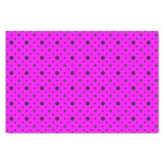 Rosa u. Multi-groß Tupfen Seidenpapier