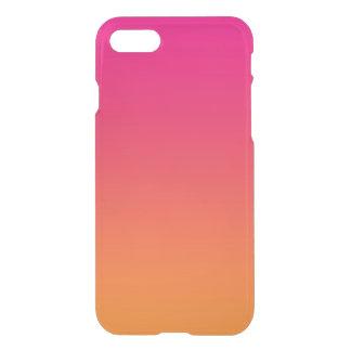 Rosa u. orange Ombre iPhone 8/7 Hülle