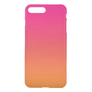 Rosa u. orange Ombre iPhone 8 Plus/7 Plus Hülle