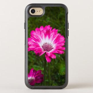 Rosa u. weißes Gerbera-Gänseblümchen in der Blüte OtterBox Symmetry iPhone 8/7 Hülle