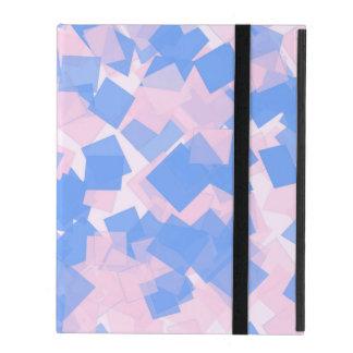 Rosa und blauer Confetti Schutzhülle Fürs iPad