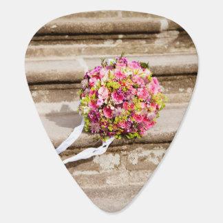 Rosa-und Grün-Blumenhochzeits-Blumenstrauß Plektron