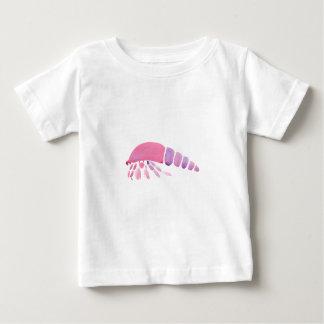 Rosa und lila Einsiedler-Krabbe Baby T-shirt
