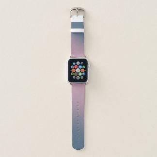 Rosa und lila Steigung Apple Watch Armband