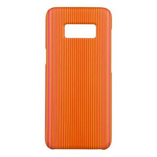 Rosa und orange gestreiftes Muster Case-Mate Samsung Galaxy S8 Hülle