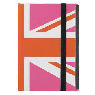 Rosa und orange Gewerkschafts-Flagge iPad Mini Schutzhülle