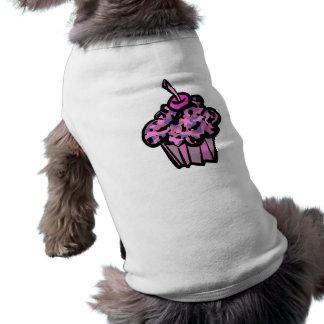 Rosa- und Purpurtarnungskleiner kuchen T-Shirt