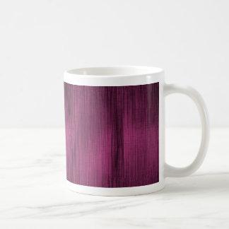Rosa-und Schwarz-abstrakte Linien Kaffeetasse