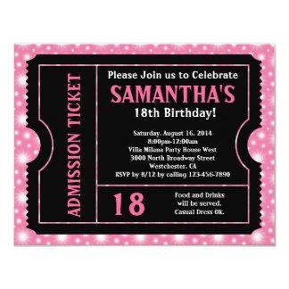 18. Geburtstag Einladungen
