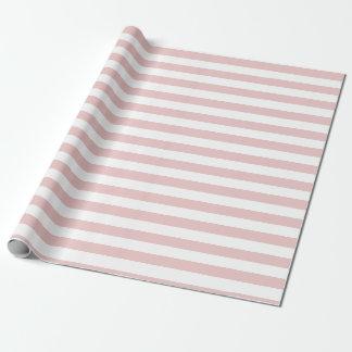 Rosa und Weiß Stripes Packpapier Geschenkpapier