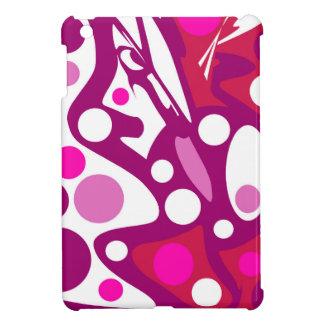 Rosa und weißer Dekor Hüllen Für iPad Mini