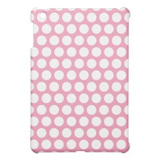 Rosa und weißes Tupfen iPad Mini iPad Mini Hülle