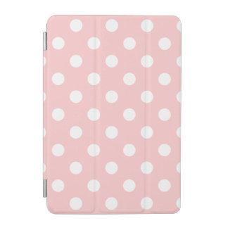 Rosa und weißes Tupfen-Muster iPad Mini Hülle