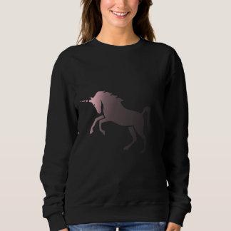 Rosa Verblassen Einhorn Sweatshirt