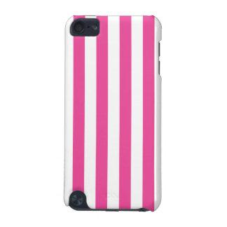 Rosa vertikale Streifen iPod Touch 5G Hülle