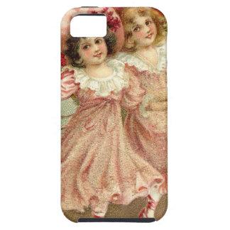 Rosa Vintage Freundschaft des Valentines Tages Schutzhülle Fürs iPhone 5
