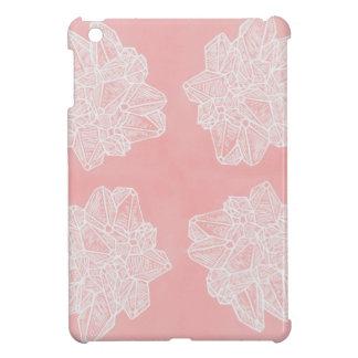 Rosa Vintages Geode Muster Hülle Für iPad Mini