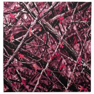 Rosa WaldCamouflage Serviette