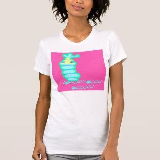 Rosa Wasser T-Shirt