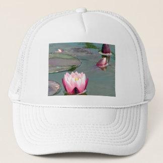 Rosa Wasserlilie Truckerkappe