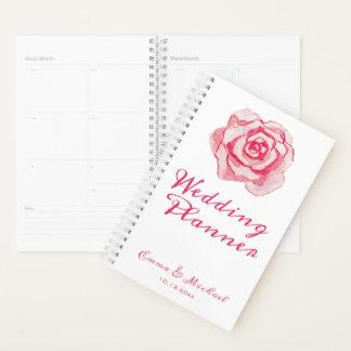 Rosa Watercolor-Rose Wedding | Planer