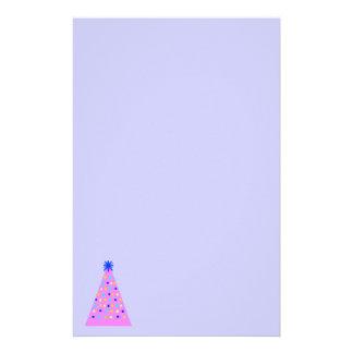Rosa Weihnachten Briefpapier