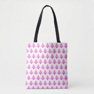 rosa Weihnachtsbaum-Taschentaschenalternative Tasche