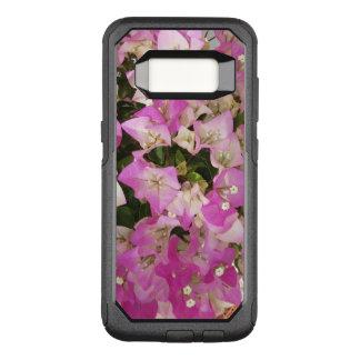 Rosa weiße Bouganvilla-Blume OtterBox Commuter Samsung Galaxy S8 Hülle