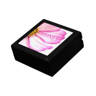 Rosa Wildblume-Geschenkboxen Schmuckschachtel
