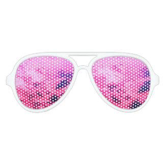 Rosa Wolken Piloten Sonnenbrillen