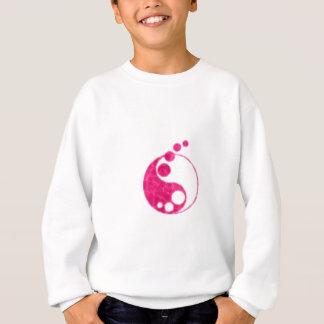rosa yin Yang Sweatshirt