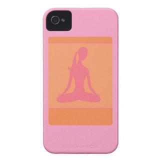rosa Yoga iphone 4 Fall Case-Mate iPhone 4 Hüllen