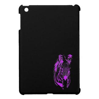 Rosa Zebra (unteres) ~ NeoniPad Minifall iPad Mini Hülle