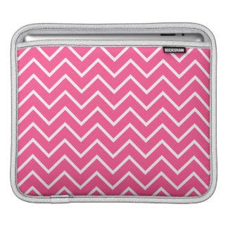 Rosa Zickzack Muster iPad Sleeve