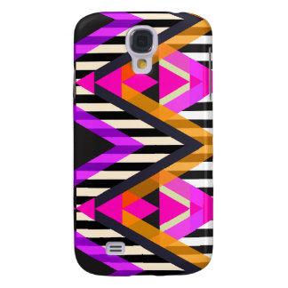 Rosa Zickzack-Pop-Azteke Galaxy S4 Hülle