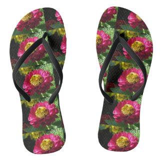 Rosa Zinnia Flip Flops