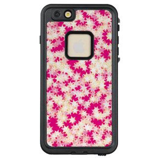 Rosa Zitronen-Creme-Gelb-Neonsterne LifeProof FRÄ' iPhone 6/6s Plus Hülle