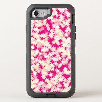 Rosa Zitronen-Creme-Gelb-Neonsterne OtterBox Defender iPhone 8/7 Hülle