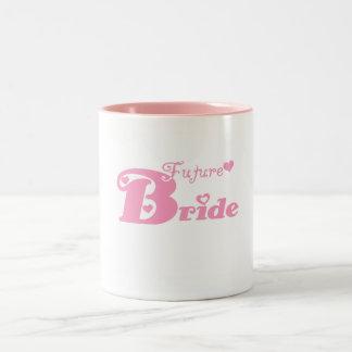 Rosa zukünftige Braut Teehaferl