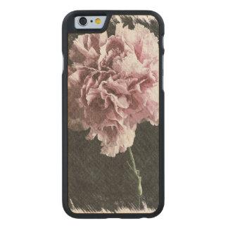 Rosagartennelke der Impressionismusgarten-Mutter Carved® iPhone 6 Hülle Ahorn