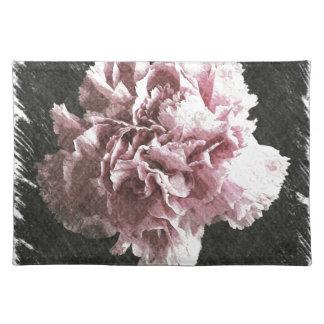 Rosagartennelke der Impressionismusmutter Tages Tischset