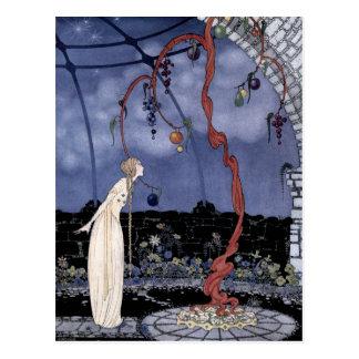 Rosalie und der magische Pflaumen-Baum Postkarte