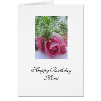 Rose: Alles- Gute zum Geburtstagmamma! Karten