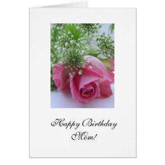 Rose: Alles- Gute zum Geburtstagmamma! Grußkarten